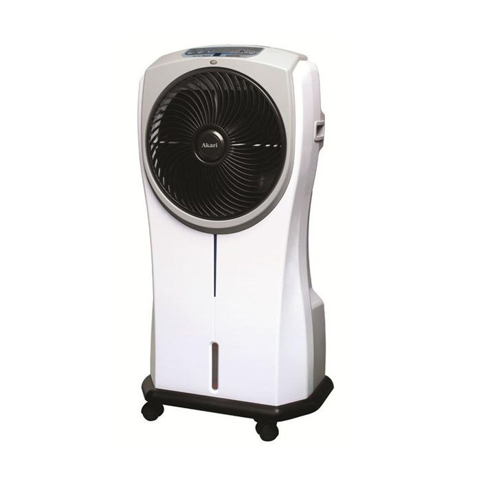Akari Rechargeable Air Fan Cooler With Ionizer Emergency Lamps